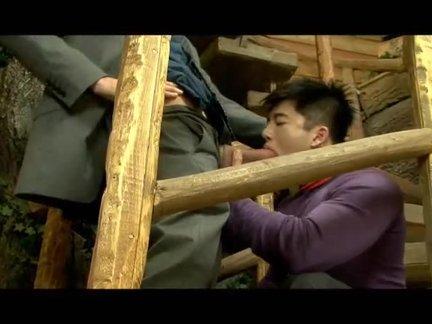 Yuji asian Muscle fuck