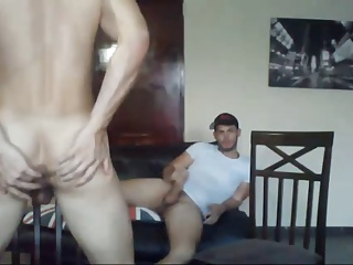 Two dirty guy With Bubble buttes Have Sex On cam