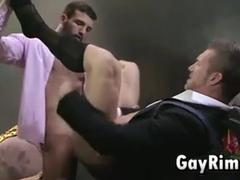 Business men boneing