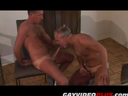 Experienced mature gay couple