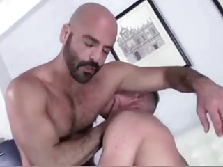 White daddy pokes White twink