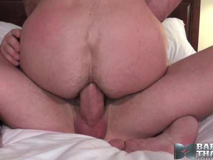 Horse-hung nakedback daddy