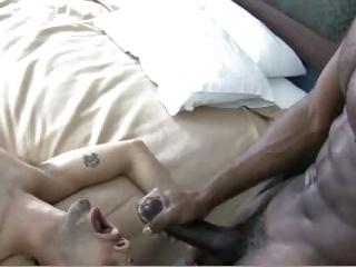 black boy drils White boy