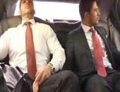 skankty muscular stud receives covered In spooge In Tthis man Car