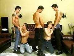 homosexual friends enjoying A homosexual Sex Party