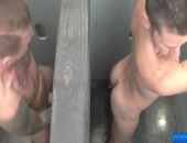 Chance sexual encounter In Tthis stud bathroom
