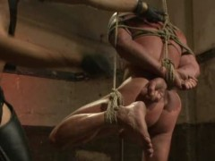 tied Up homosexual Electro Shocked And Whellopped A
