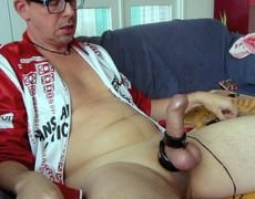 Electro Edit (edit without Any Sounding) Of A Previous Released Vid (obvious That One Is With Tthis man Sounding). Masturbating With Estim And Poppers