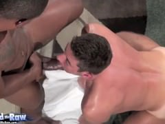 Interracial Sex On Sofa 1