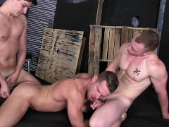 nudeback trio - Saxon West, Chris And Shane