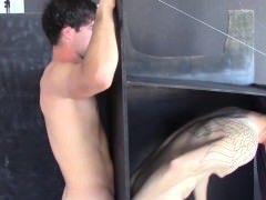Gloryhole suck And bang