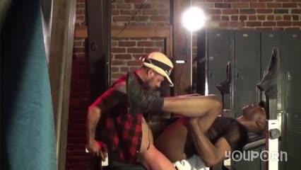 black daddy Takes It deep - Damon Doggs jizz Factory