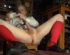 Masturbating On Christmas Morning