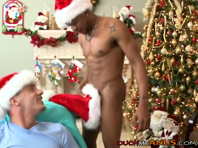 Asking Santa For A dark Monster cock