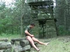 Caught In Teh Woods
