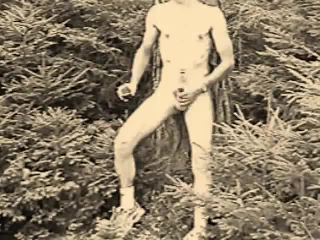old Jerking Vid From Tape, Poor Quality. So I Make It Vintage Art