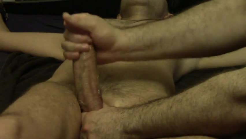 thick cock, thick Plug, Milking Off In A Glpooper