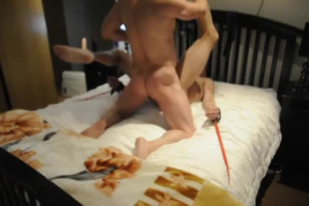 slave Being Used, Caned, Pegs, Spanked, tied Down, And driled Hard