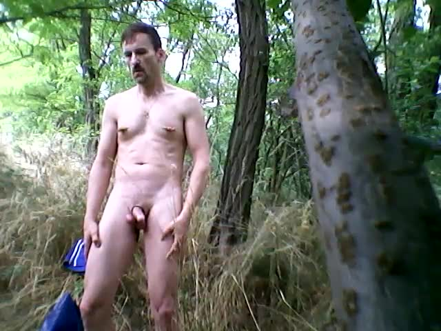 I Was undressed In The Woods Near The Trail.