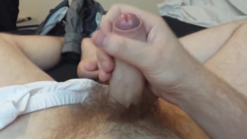 After Playing For A while, Last 10 Minutes Uploaded. Slow wank With Plenty Of Pre-spooge And finally ooze White Milky spooge.  Start With Jeans, And