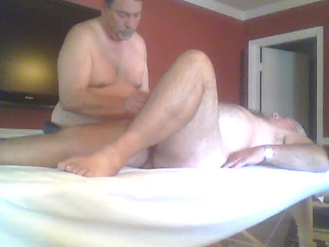 humongous Bear Asked For A Massage And A Prostate Massage.