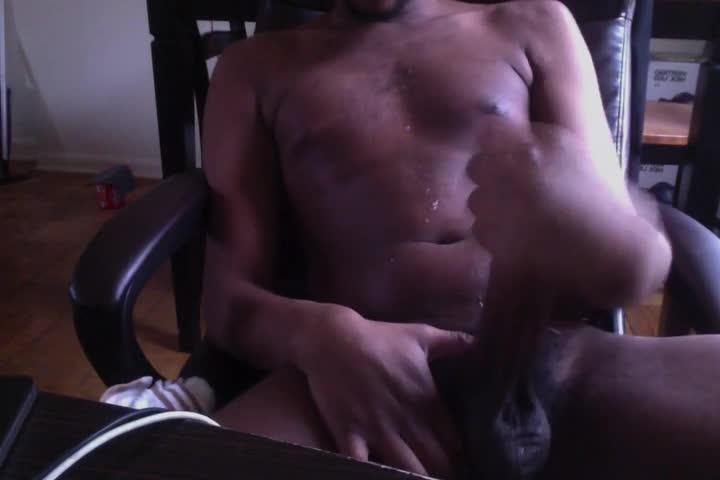 young dark Nigga Beatin My meat
