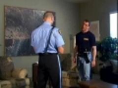 Cop gets slamed