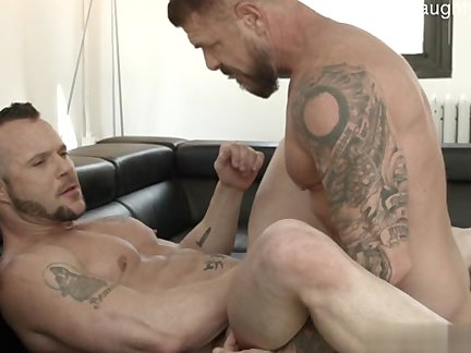 Muscle Brothers doggy style Pov