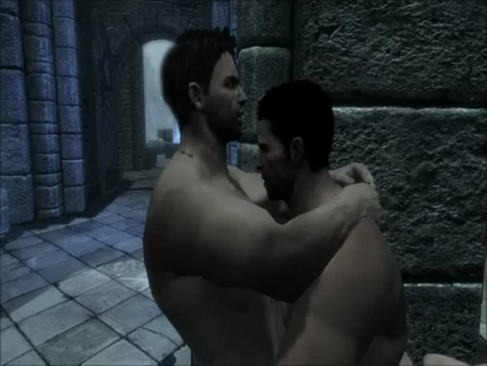 Skyrim: Chris Redfield X 2