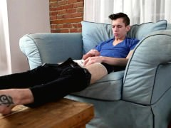 dirty juicy sleazy chap Feet And wanking
