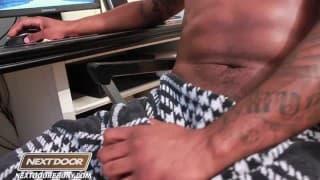 Ace Rockwood Masturbates Whilst Watching Porn