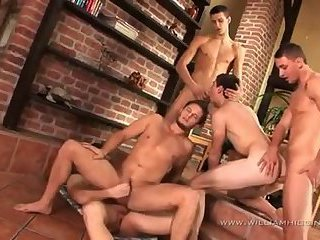 group Of homosexuals Have Sex