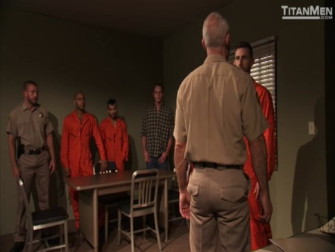 orgy In Jail