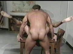Teacher bonks Muscle knob Student