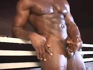 powerful darksome guy Whacking Off