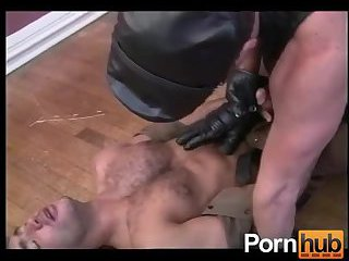 twinks In Leather Making Out