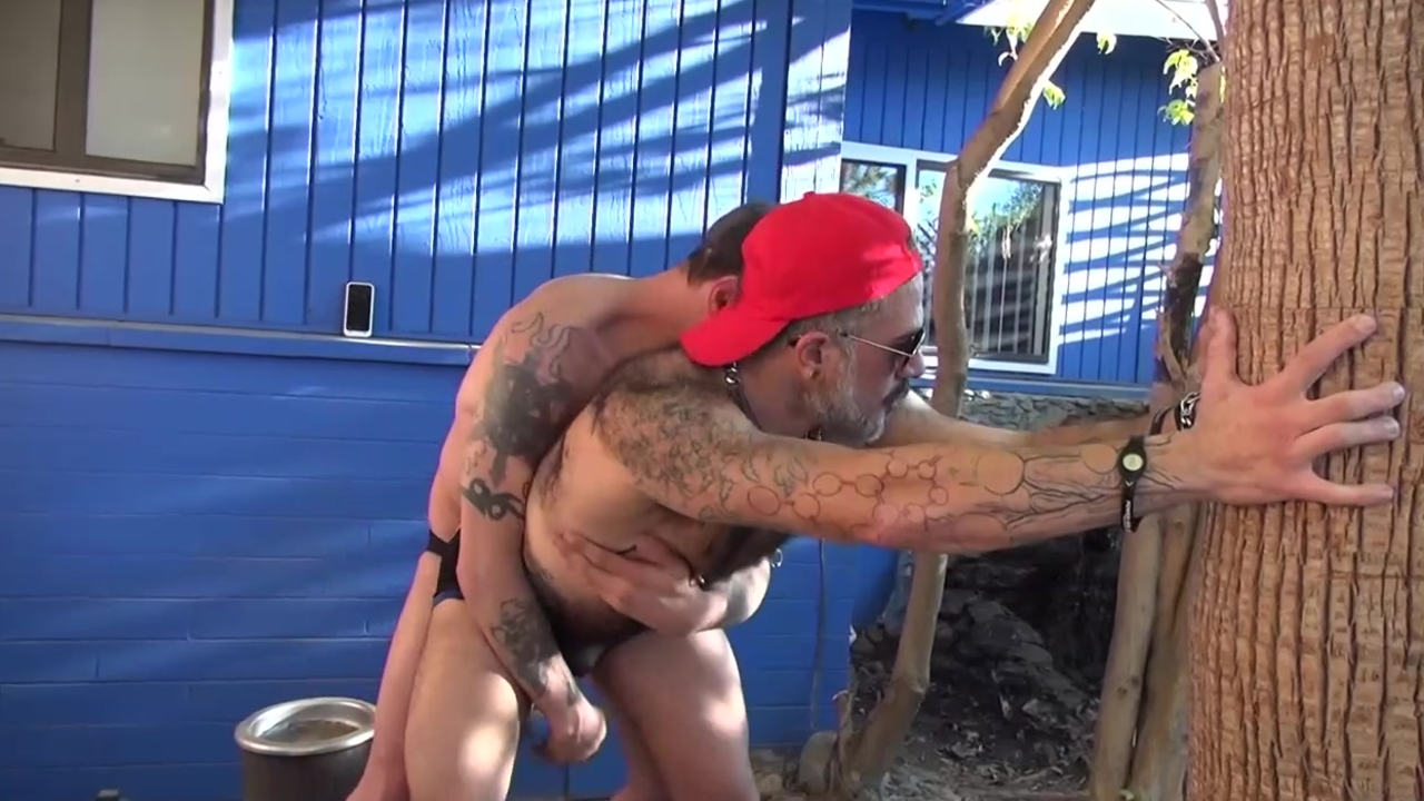 Dilf ass Action - Damon Doggs cum Factory