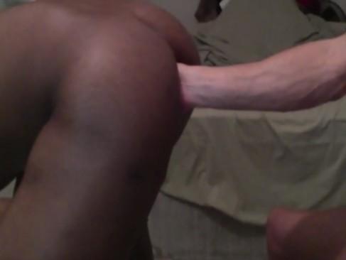 Brazilian23cm Breeding A black lad And Fi