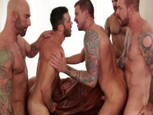 big orgy bareback