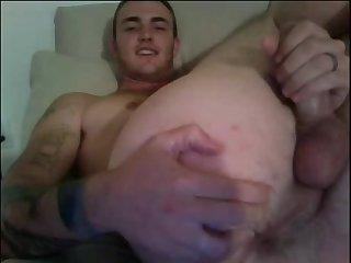 webcam Hunk With gigantic 10-Pounder