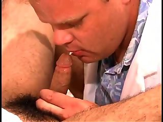 Luscious Patient gets oral sex-stimulation
