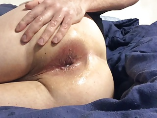 Super monstrous Bubble anal pounded deep With 18 Inch dildo!!!