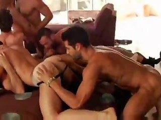 bawdy orgy Of Hunks
