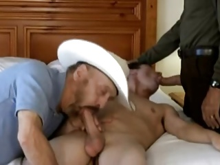 Cowboy Silver Daddy And A juvenile man.mp4