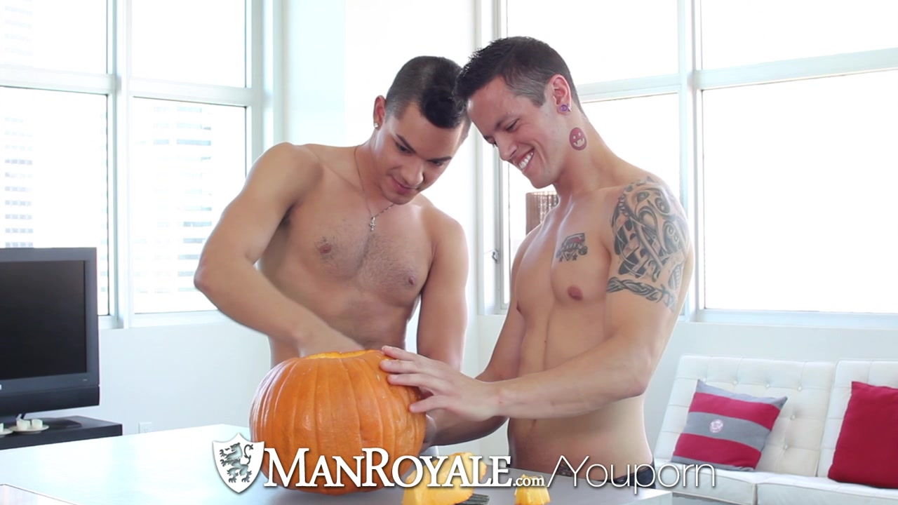 Trick Or Treat - Ethan Slade pounded By Tyler Lee