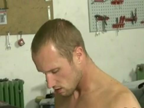 Straight guy drilling
