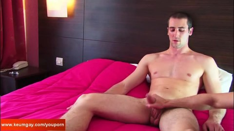 Room Service lad (hetero) acquires Wanked His large 10-Pounder By A Client For specie !