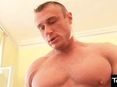 TwinkBoyMedia Two strong Muscle males bareback