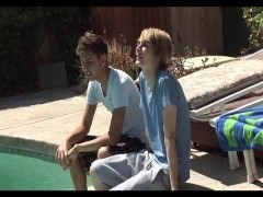 valuable juvenile gay couple
