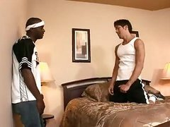 kinky Interracial homosexual men